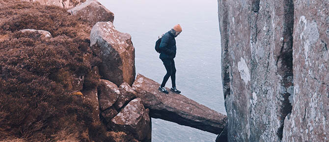 woman-balancing-risk