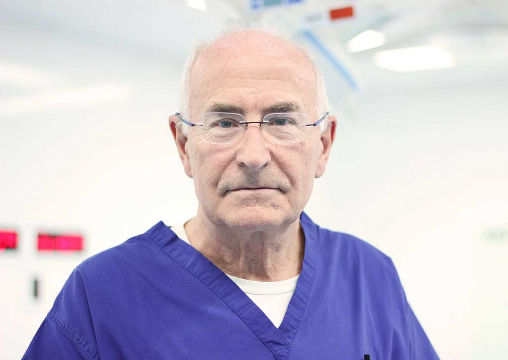 This is an image of one of the most renowned gastric band surgeon's in the world - Professor Franco Favretti, also known as 'The Godfather of Gastric Banding'