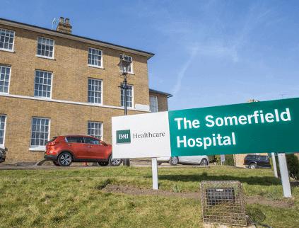 Somerfield Hospital in Maidstone
