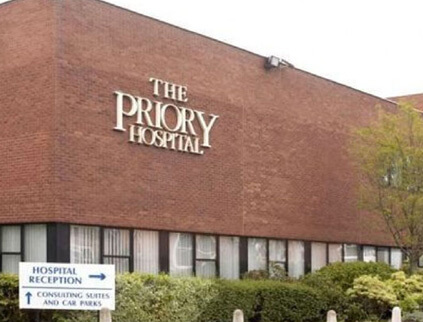 Priory Hospital in Birmingham