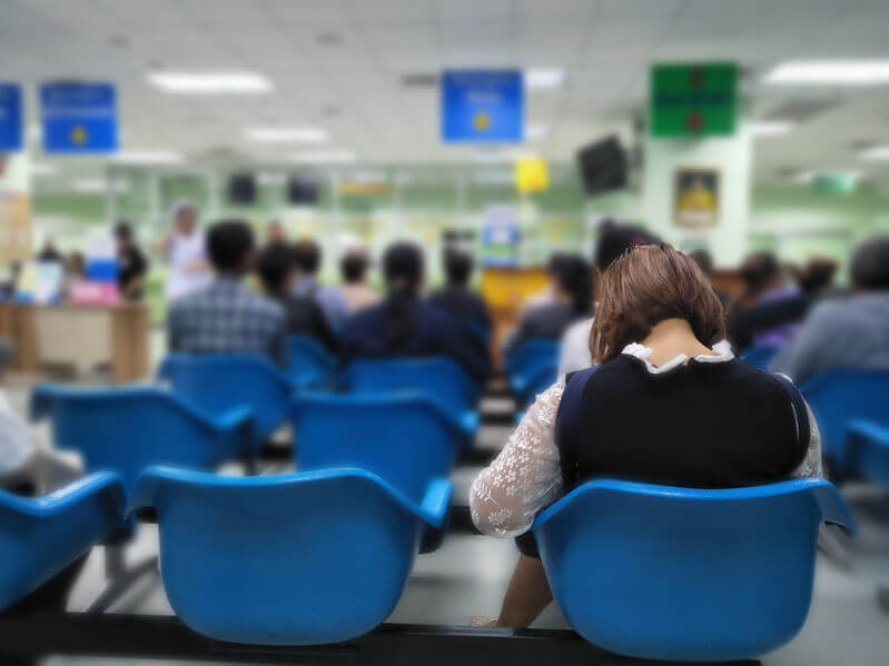 Image of a hospital waiting room