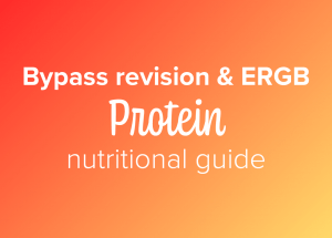 Bypass revision and ERGB protein nutritional guide