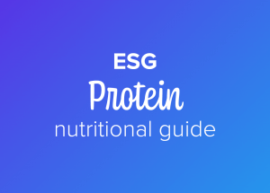 ESG protein nutritional guide