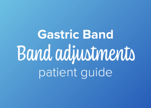 Gastric band patient guide to band adjustments