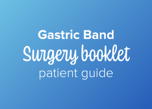 Gastric band surgery booklet